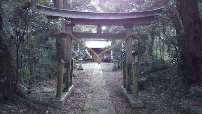 茨城県熊野神社の鳥居