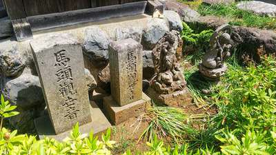 埼玉県豊泉寺の像