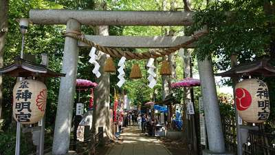 東京都小平神明宮の鳥居
