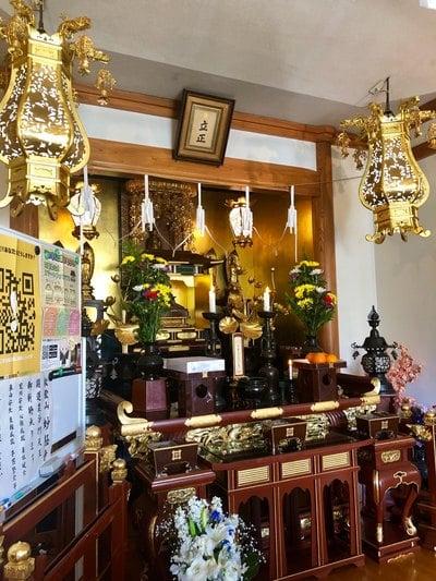 東京都妙経寺の本殿