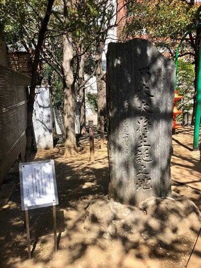 妙経寺の周辺