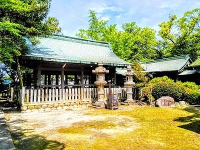 愛知県八幡神社(遠島八幡神社)の写真