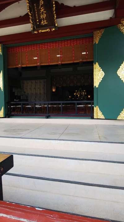 東京都亀戸天神社の本殿