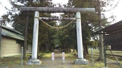 栃木県桜町二宮神社の鳥居