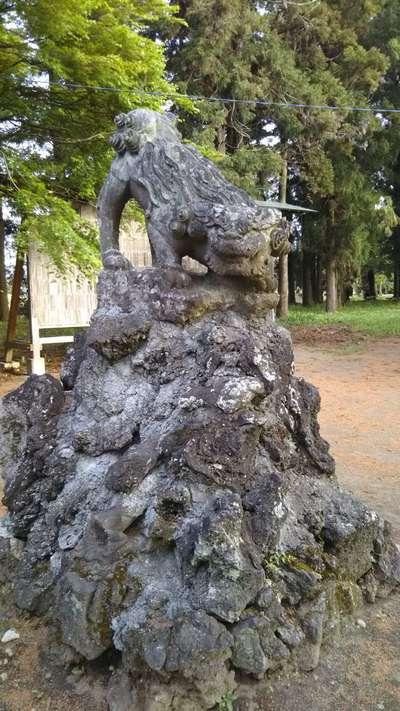 桜町二宮神社の狛犬