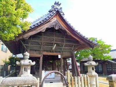 愛知県八劔社(安松八劔社)の本殿