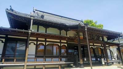 埼玉県慈眼寺の本殿
