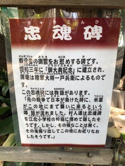 東京都下沼田氷川神社の写真