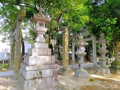 愛知県八劔社(木田八劔社)の鳥居