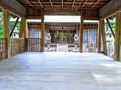 愛知県八劔社(木田八劔社)の本殿