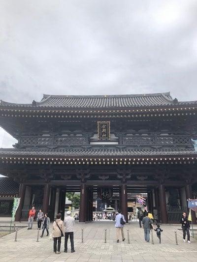 川崎大師(平間寺)の山門
