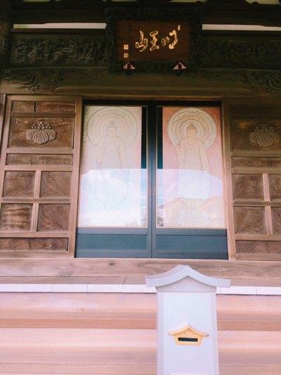 神奈川県海照寺の本殿