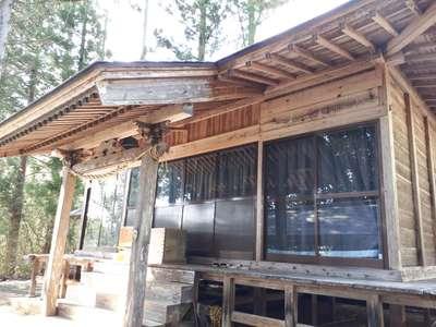 天狗田神社の本殿