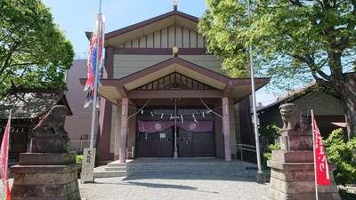 東京都日野八坂神社の本殿