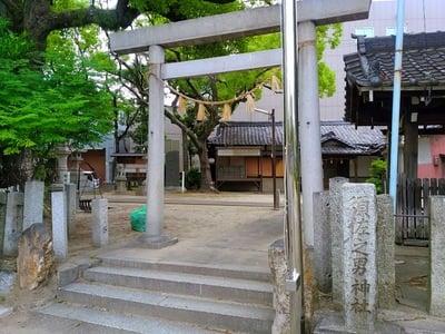 愛知県須佐之男社の鳥居