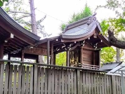 愛知県須佐之男社の本殿