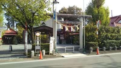 栃木県鹿島神社の鳥居