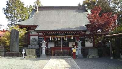 栃木県鹿島神社の本殿