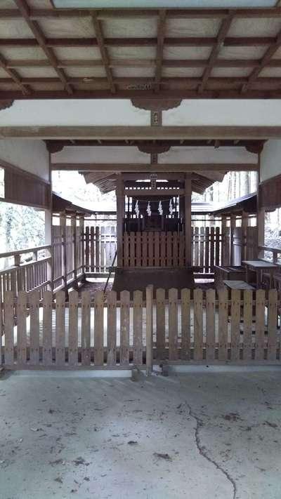 村檜神社の末社