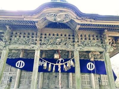 岩手県興田神社の本殿