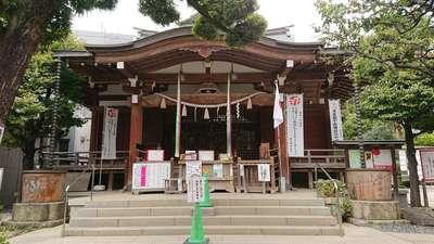 東京都鳩森八幡神社の本殿