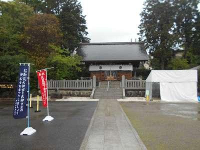 神奈川県本村神明社の本殿