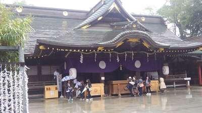 東京都大國魂神社の本殿