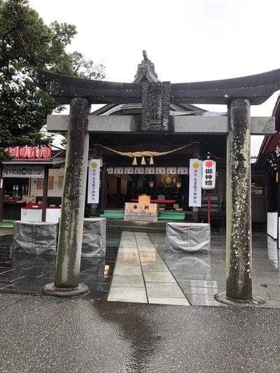 熊本県粟島神社の写真