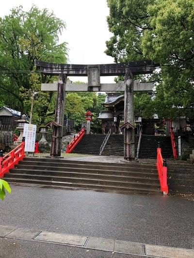 熊本県西岡神宮の鳥居