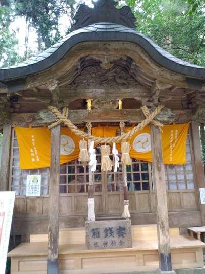 鳥取県金持神社の本殿