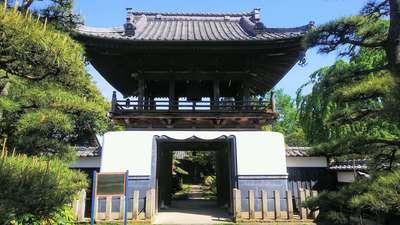埼玉県廣福寺の山門