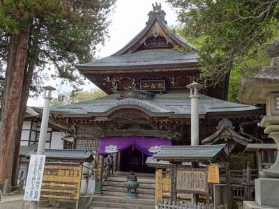 長野県常楽寺北向観音の本殿