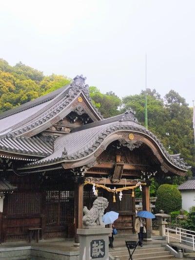 愛知県熊野神社(本郷熊野神社)の本殿