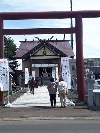 新川皇大神社の鳥居