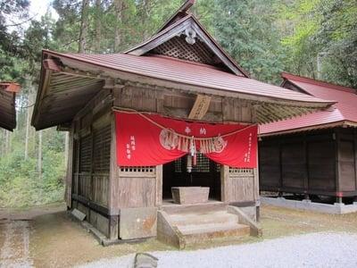 宮崎県二上神社の写真