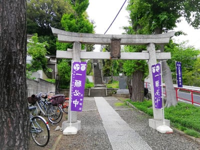 太田神社の鳥居
