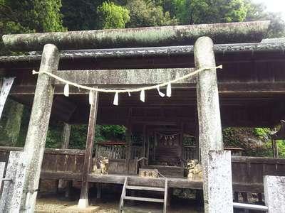 岐阜県南宮神社の鳥居