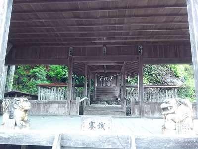 岐阜県南宮神社の本殿