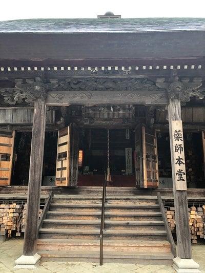 静岡県油山寺の本殿