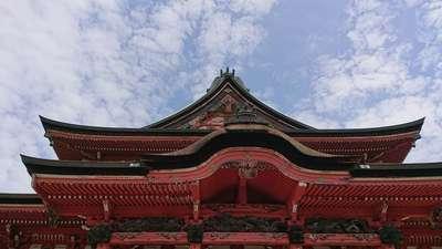 甲斐善光寺の本殿