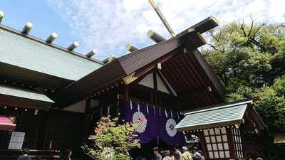東京都東京大神宮の本殿