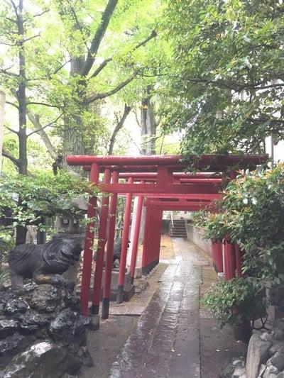 東京都富岡八幡宮の本殿