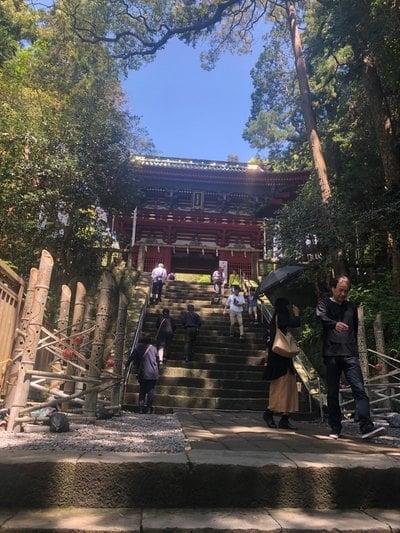 静岡県久能山東照宮の山門