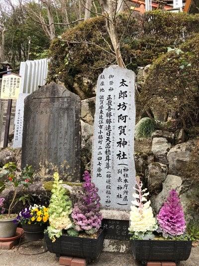 滋賀県阿賀神社の写真