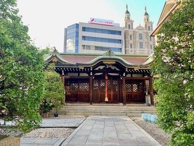 兵庫県三宮神社の写真