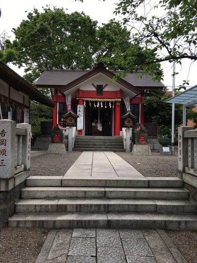 埼玉県元郷氷川神社の本殿