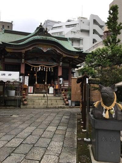 東京都平河天満宮の本殿