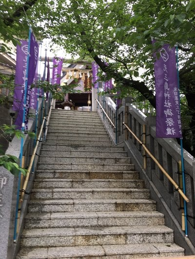 東京都元三島神社の写真