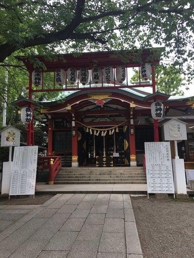 居木神社(東京都大崎駅) - 本殿・本堂の写真