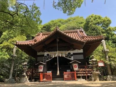 広島県御袖天満宮の本殿